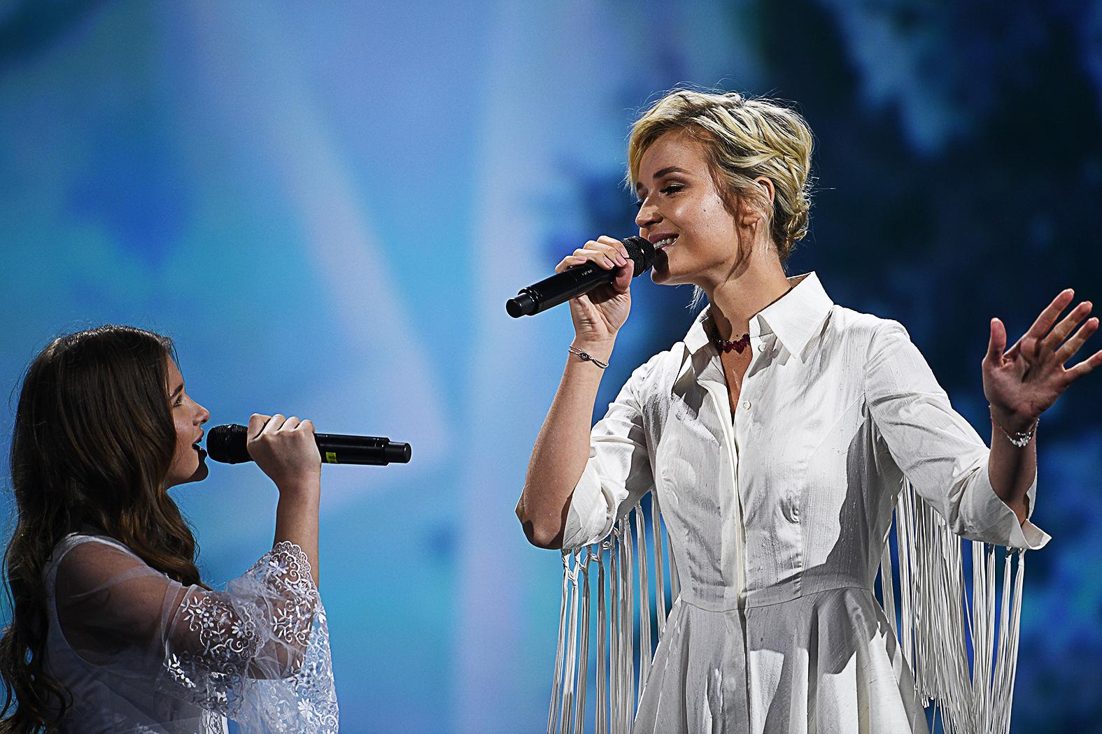 Polina Gagarina a 2015-ös Eurovíziós dalfesztiválon második helyezést ért el #moszkvater