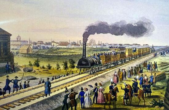 A Szentpétervár - Moszkva vasútvonal lett a maga 645 kilométerével az első kétvágányú vasútvonala Oroszországnak #moszkvater
