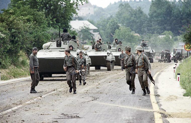 Harminc éve tört ki a horvátországi háború #moszkvater