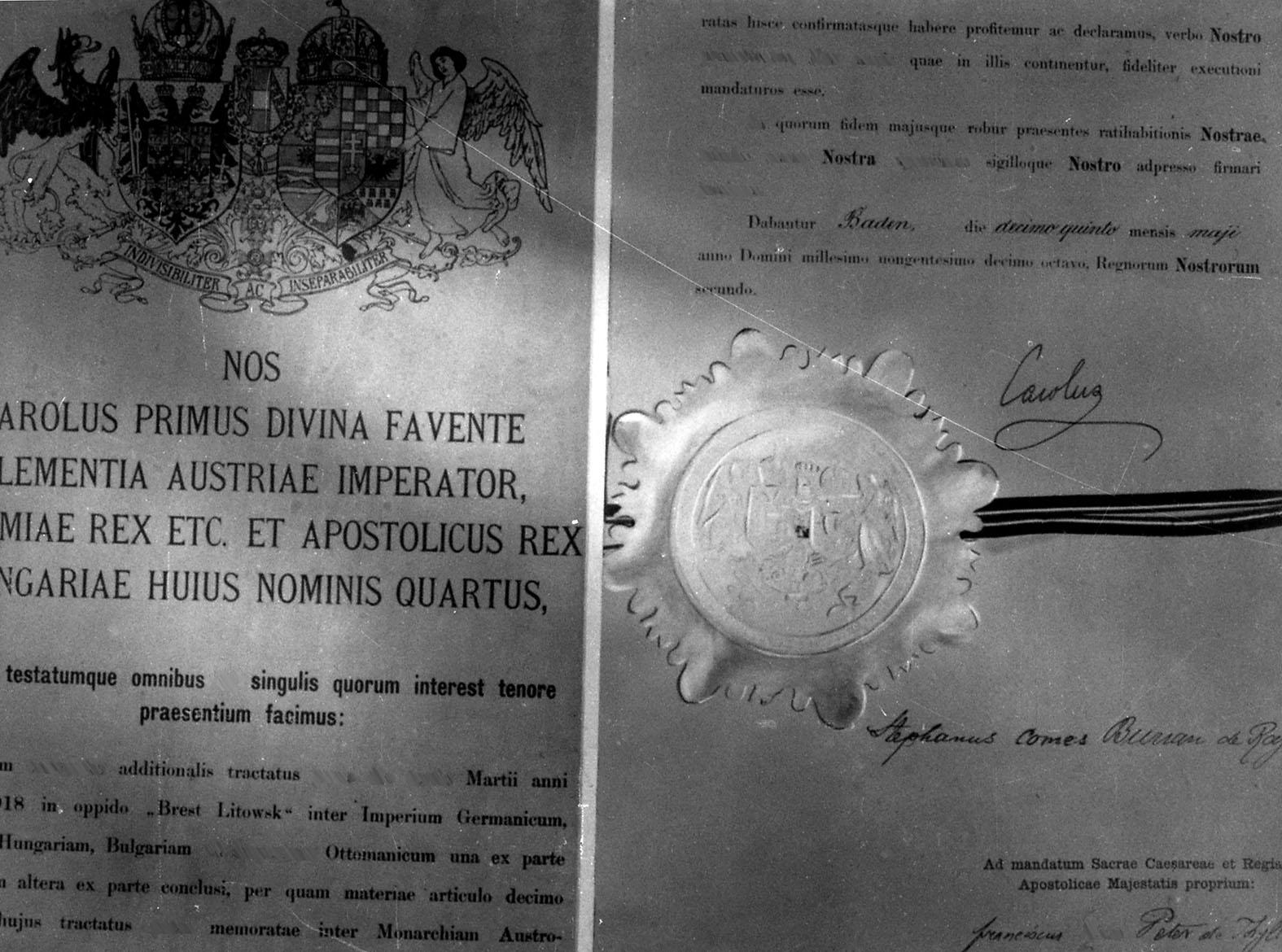 Reprodukciós felvétel a breszt-litovszki békeszerződésről #moszkvater