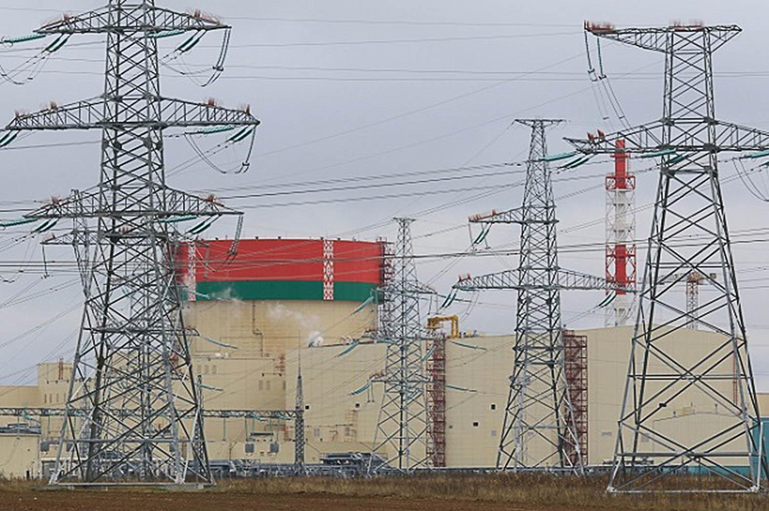 """""""A Belorusz Atomerőmű első blokkja 100 százalékos teljesítményszinten üzemel, a próbaüzem során 2021. január 12-én érte el először a névleges teljesítményt"""" #moszkvater"""