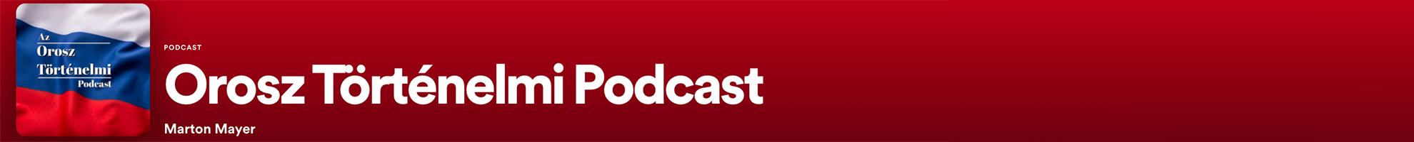 Orosz Történelmi Podcast #moszkvater