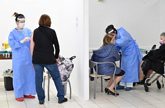 Szputnyik vakcinával oltanak San Marino kórházában 2021. március 29-én #moszkvater