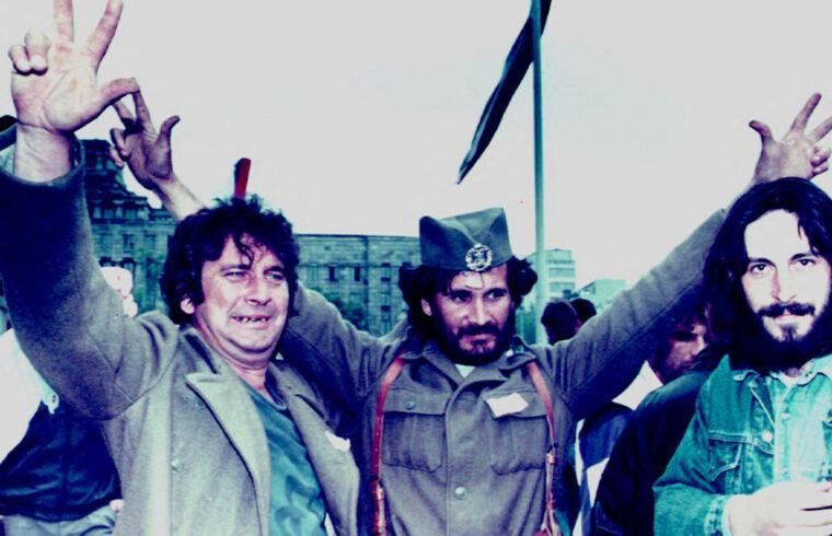 Szerb csetnikek ünnepelnek Belgrádban 1992. augusztus 21-én #moszkvater