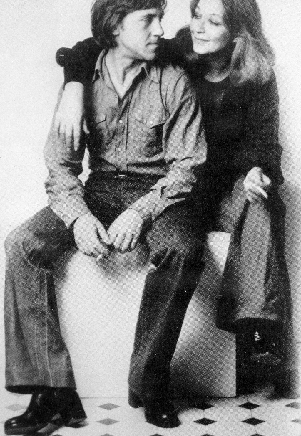 Vlagyimir Viszockij és Marina Vlady 1979-ben #moszkvater