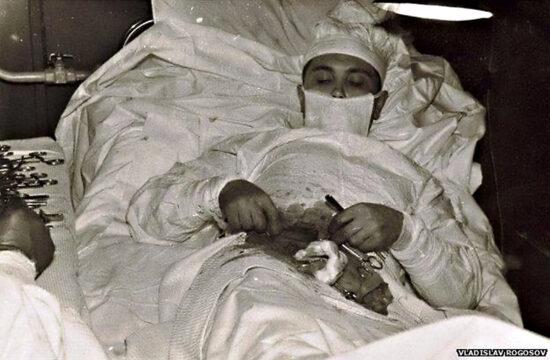 """""""Mindenki csodáról mesélt, és bizony igencsak nehéz volt elhinni azt a csodát, amit a fiatal orvos véghezvitt"""" #moszkvater"""