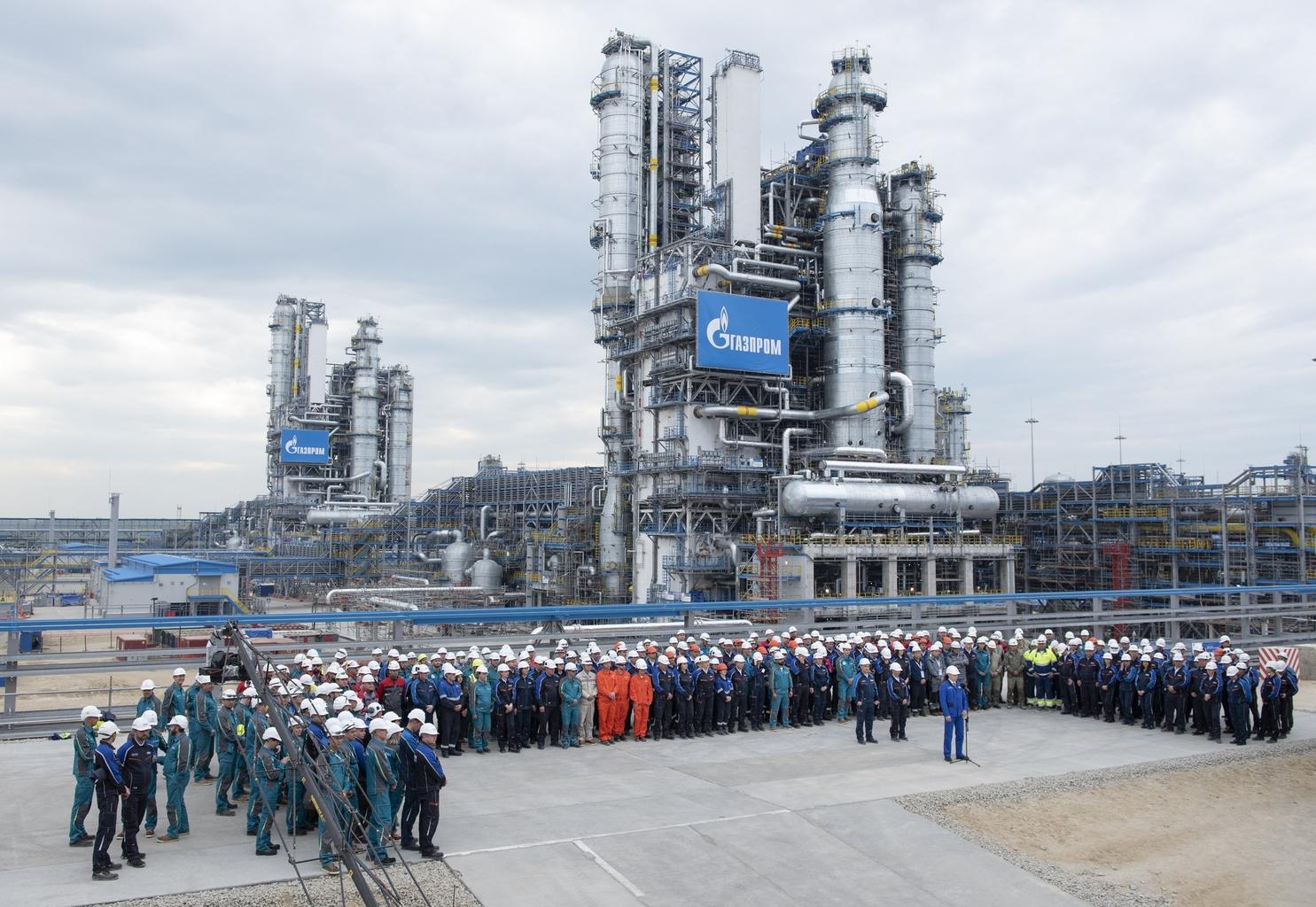 Az amuri évi 40 milliárd köbméteres teljesítményével világ második legnagyobb földgázfeldolgozója #moszkvater