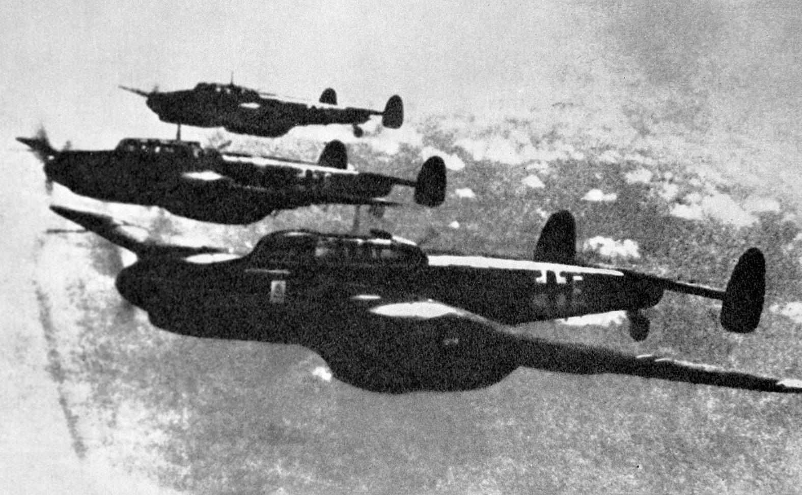 Námet bombázók indulnak szovjet területeket bombázni 1941- június 22-én #moszkvater