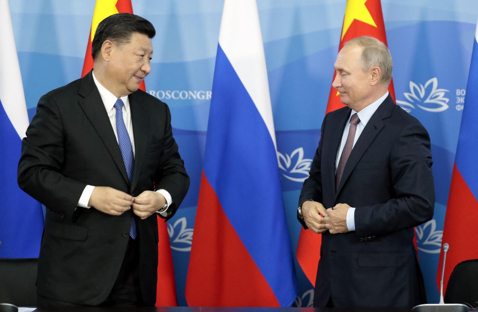 Hszi Csin-ping és Vlagyimir Putyin találkozója 2018-ban #moszkvater