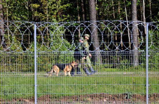 Belarusz járőrök a Belarusz-Litván határon 2021. május 25-én #moszkvater