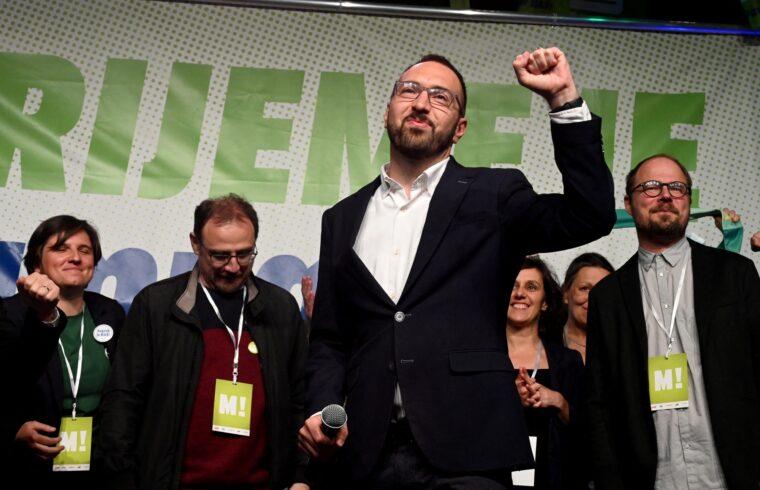 """""""Az új polgármester Tomislav Tomašević az eredetileg ugyancsak baloldali, de a Szociáldemokrata Pártból kiszorított Milan Bandićtól 21 év után vette át a gyeplőt"""" #moszkvater"""