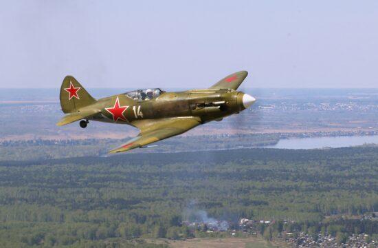Restaurált Mig 3 repülőgép bemutató repülése Novoszibirszkben 2020 augusztusában #moszkvater