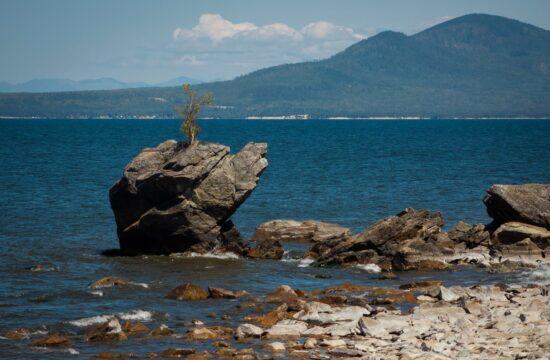 """""""A Bajkál-tó Oroszország egyik meghatározó természeti erőforrása"""" #moszkvater"""