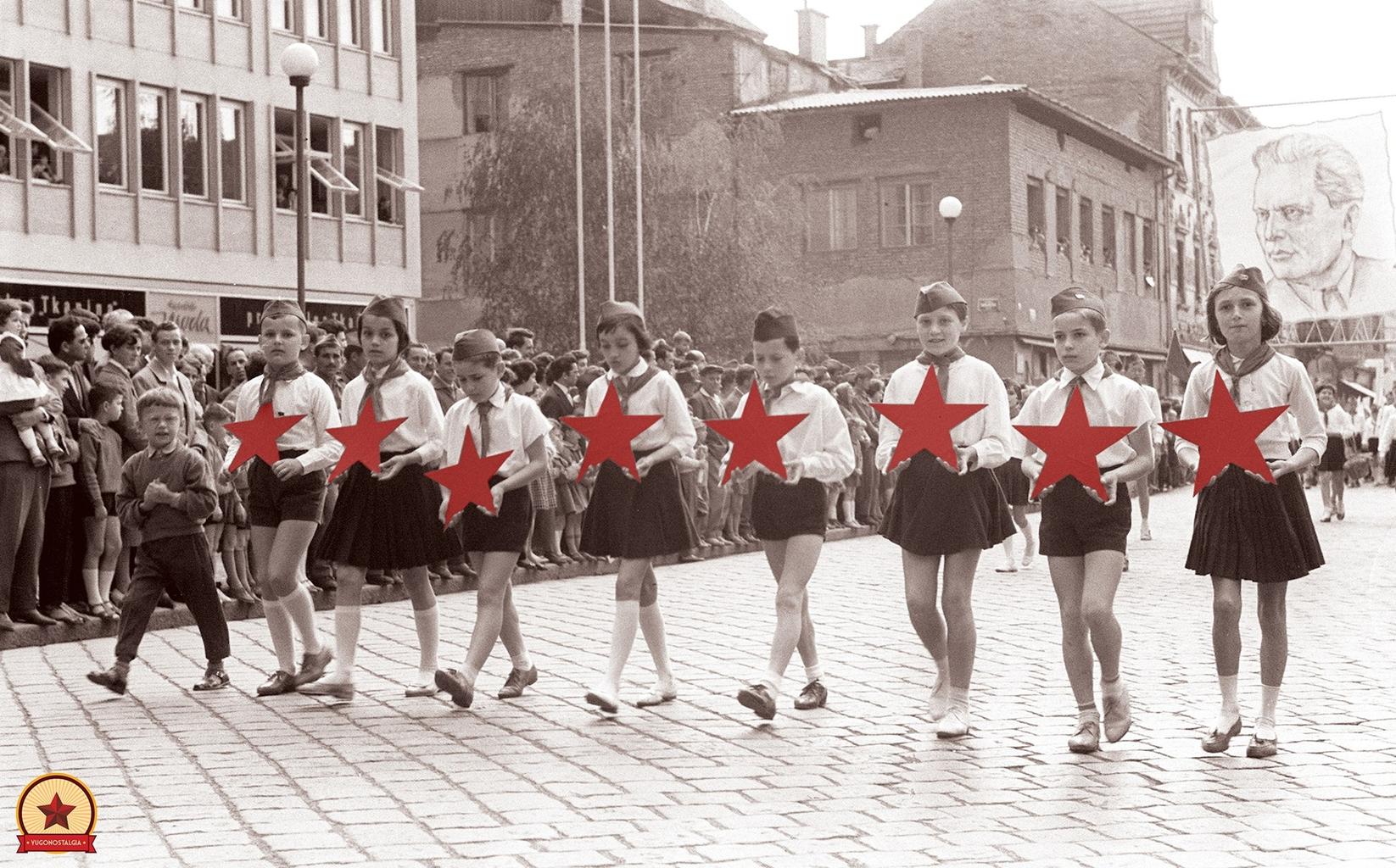 Ifjúsági nap Mariborban, 1961-ben #moszkvater
