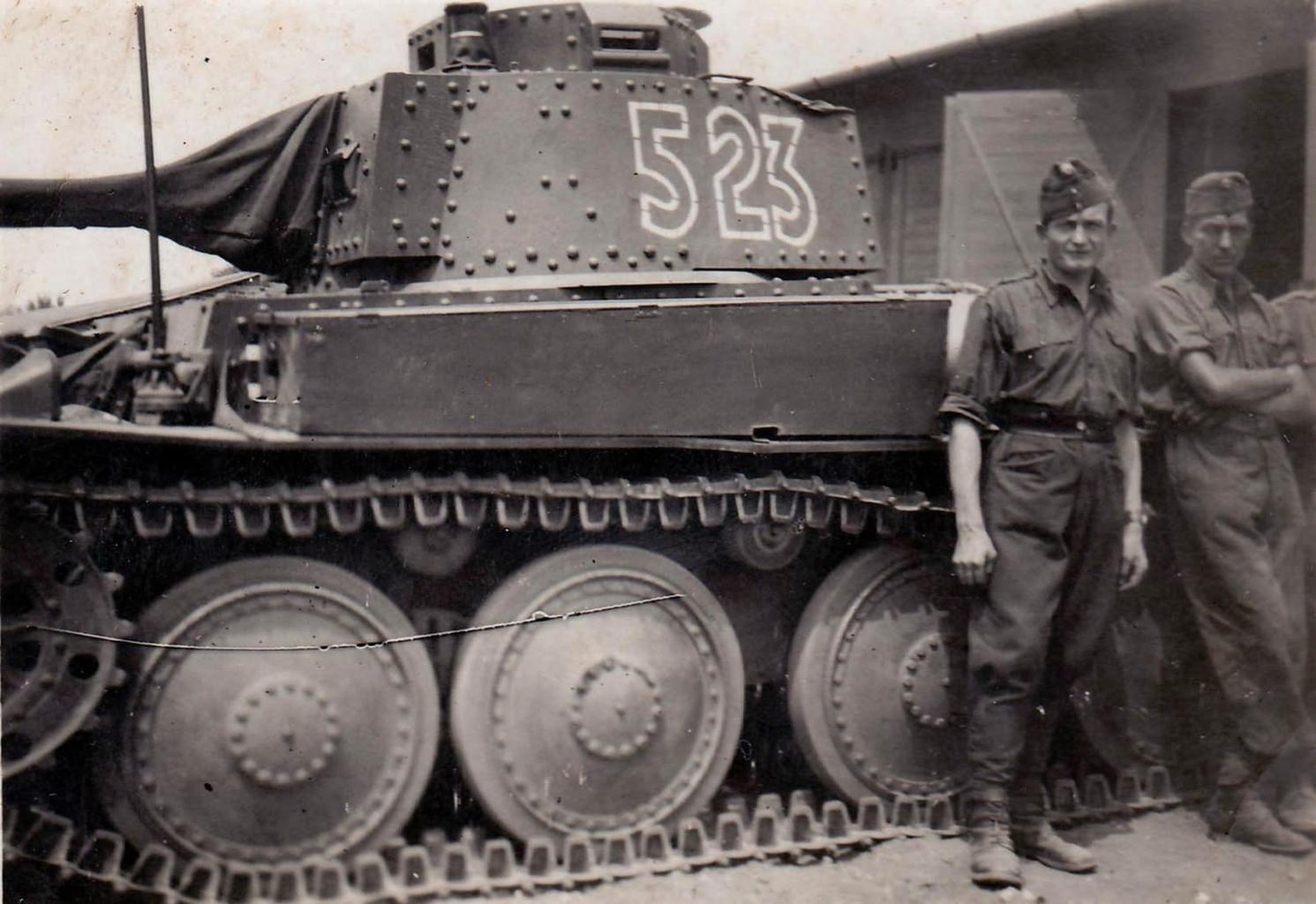 Csehszlovák gyártású Panzer 38(t) a Magyar Királyi Honvédség állományában 1941-ben #moszkvater