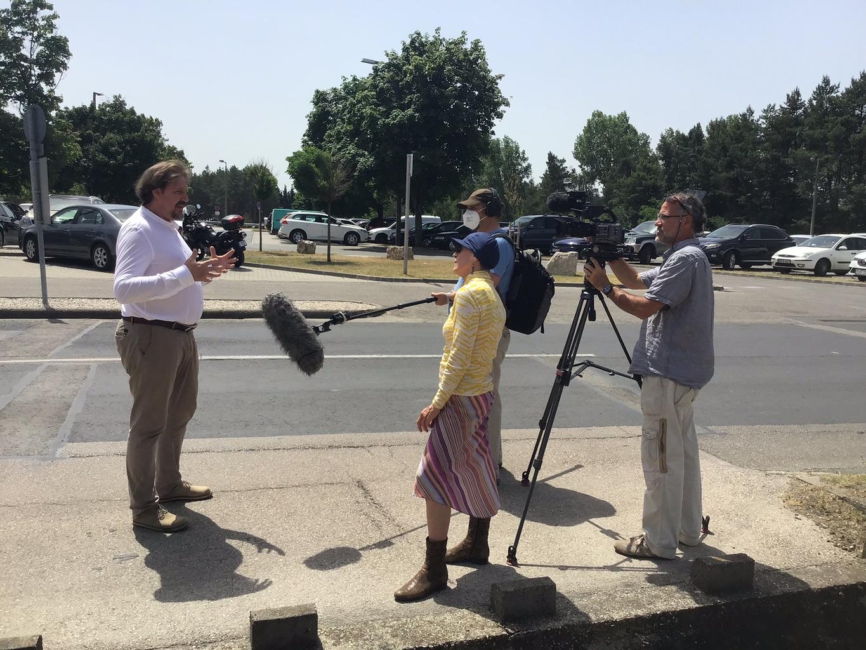 Thomas Waitz Pakson nyilatkozik az ORF-nek #moszkvater
