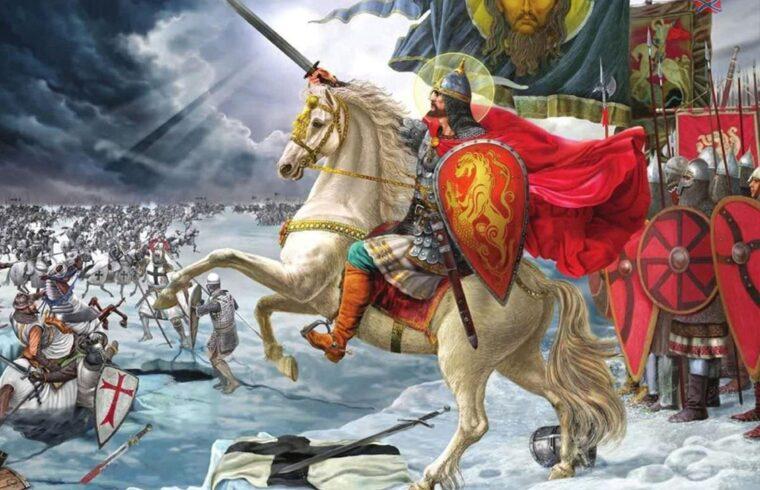 """""""Egy dolog azonban biztos, a novgorodi és a svéd hadak 1240. július 15-én megütköztek a Néva torkolatánál. Csak az a kérdés, hogy mekkora létszámban és miként"""" #moszkvater"""