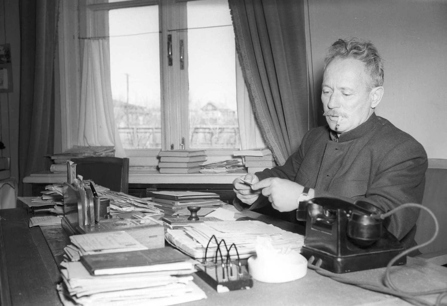 Mihail Solohov 1956-ban #moszkvater