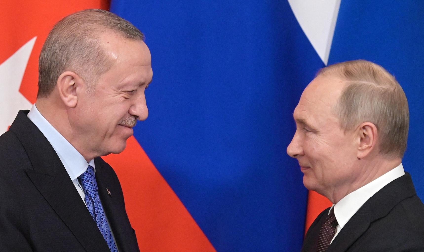 Recep Tayyip Erdogan és Vlagyimir Putyin találkozója Moszkvában 2020. március 5-én #moszkvater