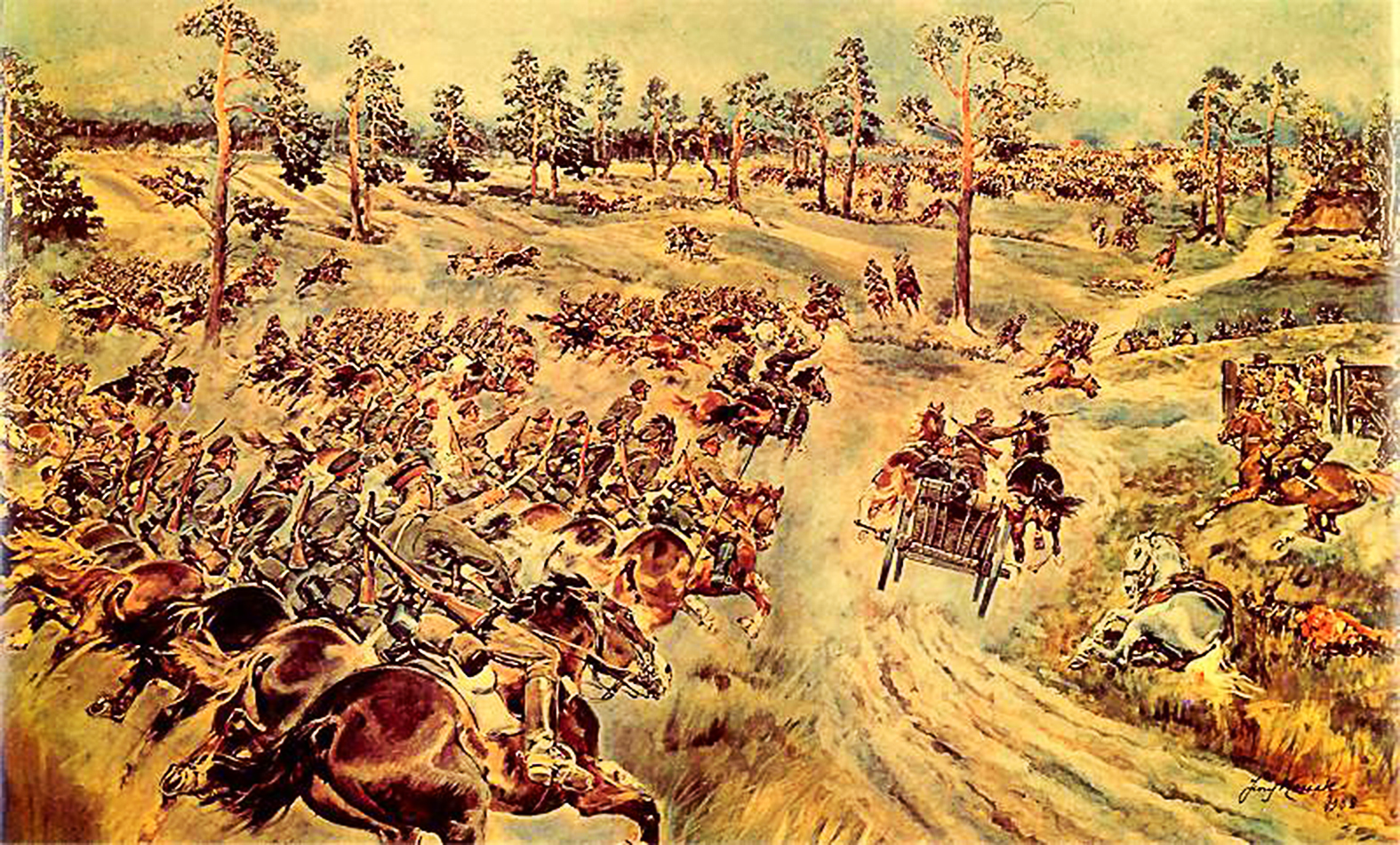 """""""Nem véletlen, hogy a lengyel történetírás hatalmas jelentőséget tulajdonít ennek a sikernek, amelyet 1813 óta a legnagyobb lovascsatának, valamint a lengyel hősiesség egyik legkiemelkedőbb bizonyítékának titulál. Sőt, a csata emlékére Lengyelországban augusztus 31-én ünneplika lengyel lovasságnapját"""" #moszkvater"""