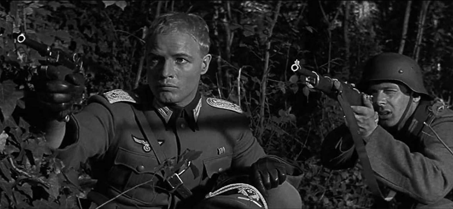 Marlon Brando az 1958-as Oroszlánkölykök című filmben, ami Irwin Shaw regénye alapján készült #moszkvater
