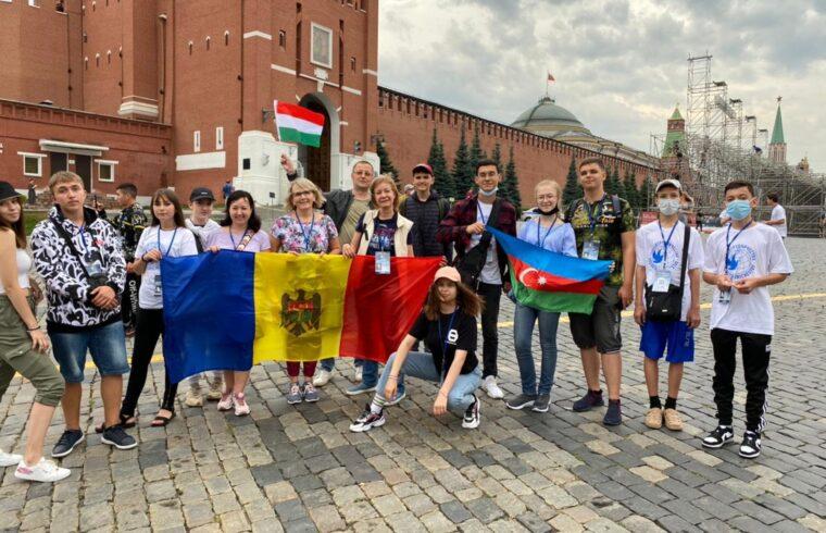 Magyar diákok is voltak a hétszáz résztvevő között, akik elutazhattak Oroszországba #moszkvater