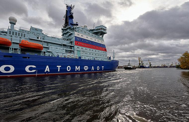 """""""A Roszatom leányvállalata, az atommeghajtású jégtörőket üzemeltető Atomflot vállalat és a Bajmszkaja bányavállalat előzetes megállapodást kötött a Bajmszkaja bányászati és fémfeldolgozó üzemek működtetéséhez szükséges áramellátásról"""" #moszkvater"""
