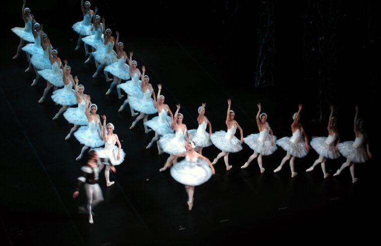 A Hattyúk tava balettelőadása az Alekszandrinszkij színházban 2008-ban #moszkvater