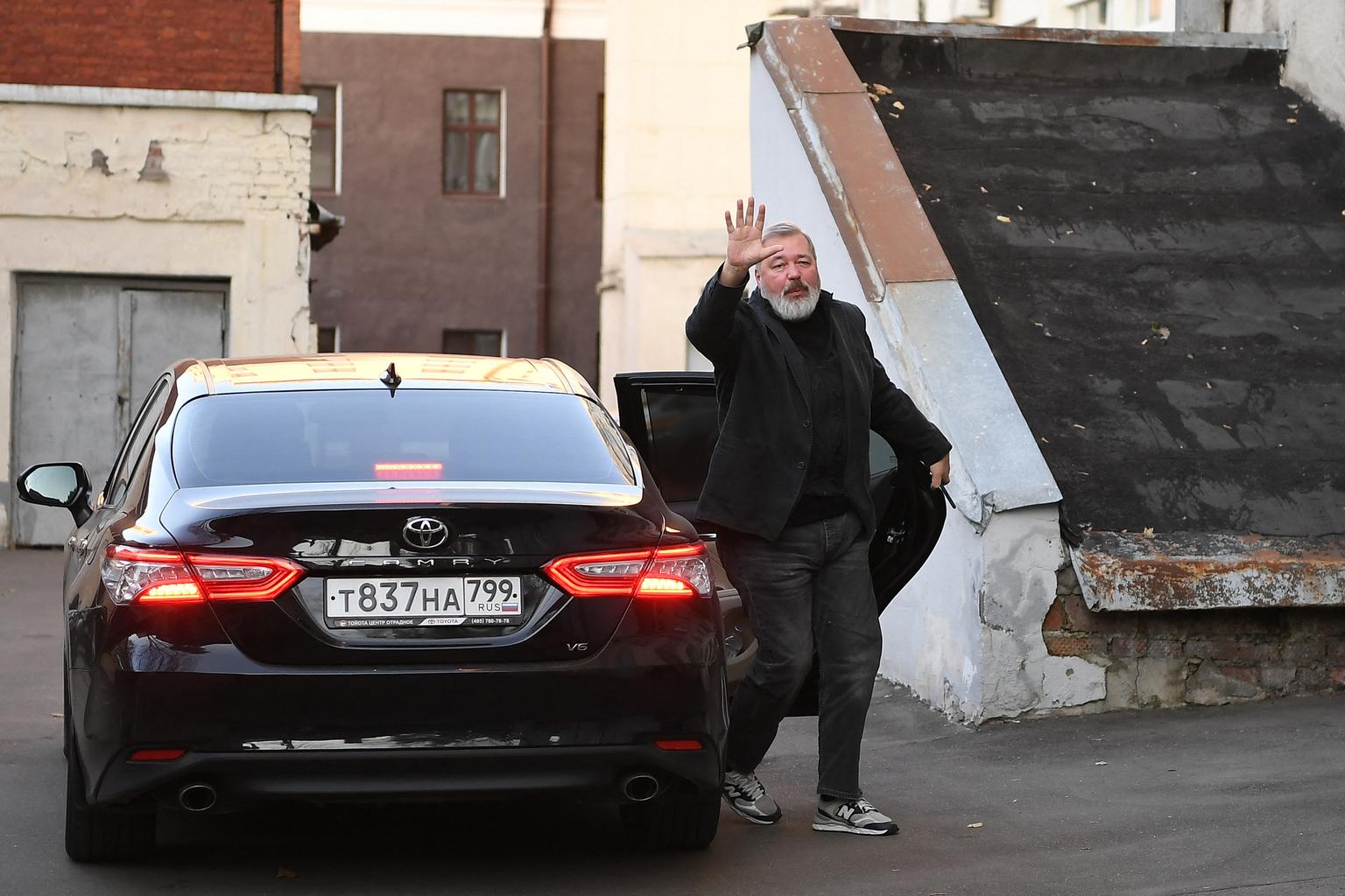 Dmitrij Muratov, a Novaja gazeta főszerkesztője kapta 2021-ben a Nobel-békedíjat #moszkvater