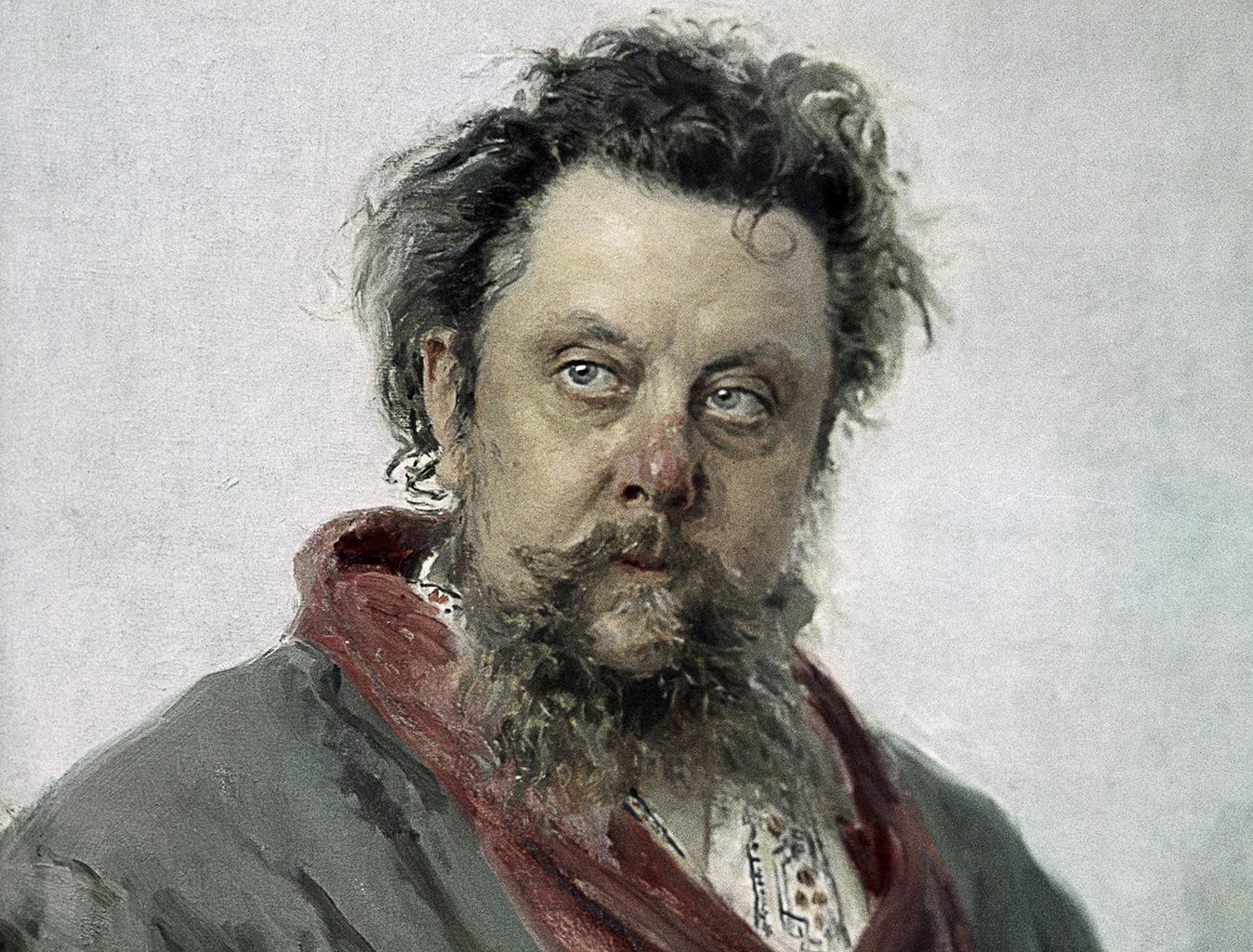 Muszorgszkij Repin festményén #moszkvater