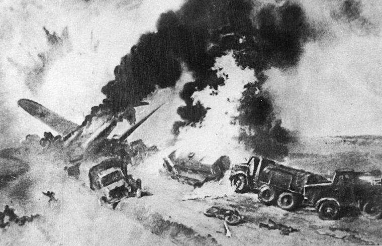 """""""Gasztello kapitány akciója okkal keltette fel az olvasóközönség figyelmét még azokban a napokban is, amikor a Szovjetunió létezése került veszélybe. Az orosz mentalitástól teljesen idegenek voltak az öngyilkos akciók. Csakhogy most tényleg itt állt a hír a rettenthetetlen parancsnokról, aki élő bombát csinált magából, hogy pusztítsa az ellenséget"""" #moszkvater"""