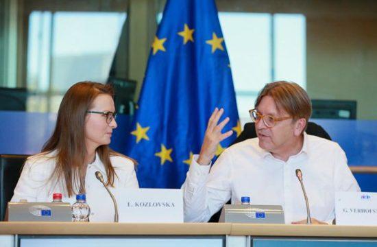 Lyudmyla Kozlovska és Guy Verhofstadt #moszkvater
