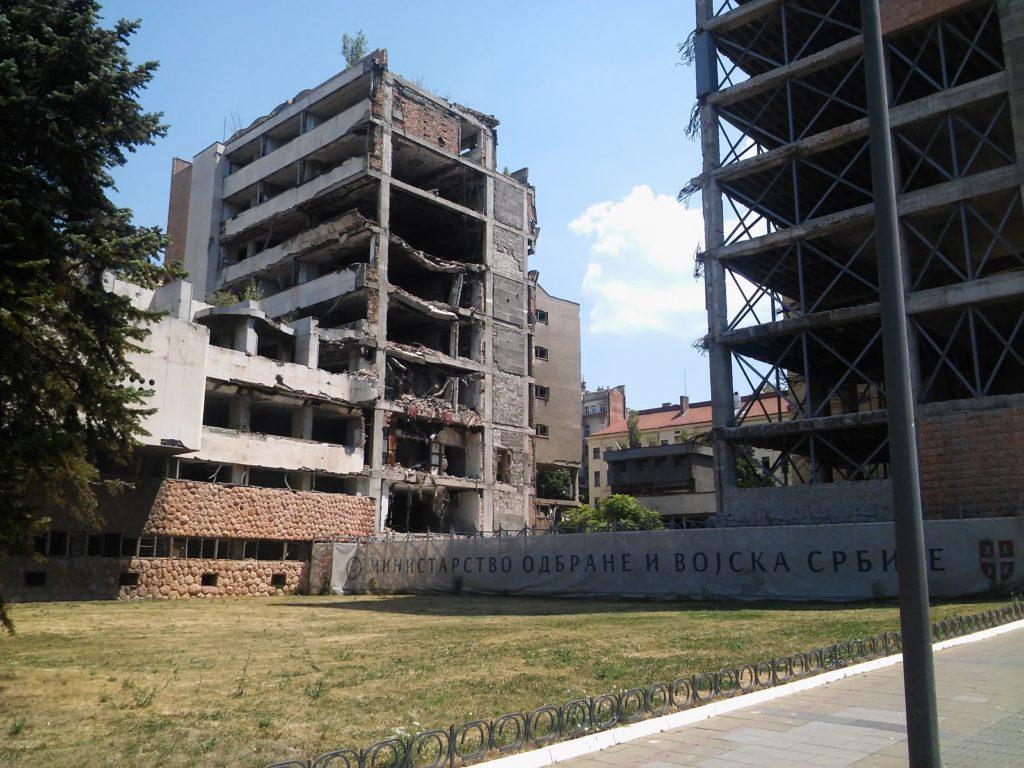 A jugoszláv hadsereg lebombázott főparancsnoksága napjainkban #moszkvater