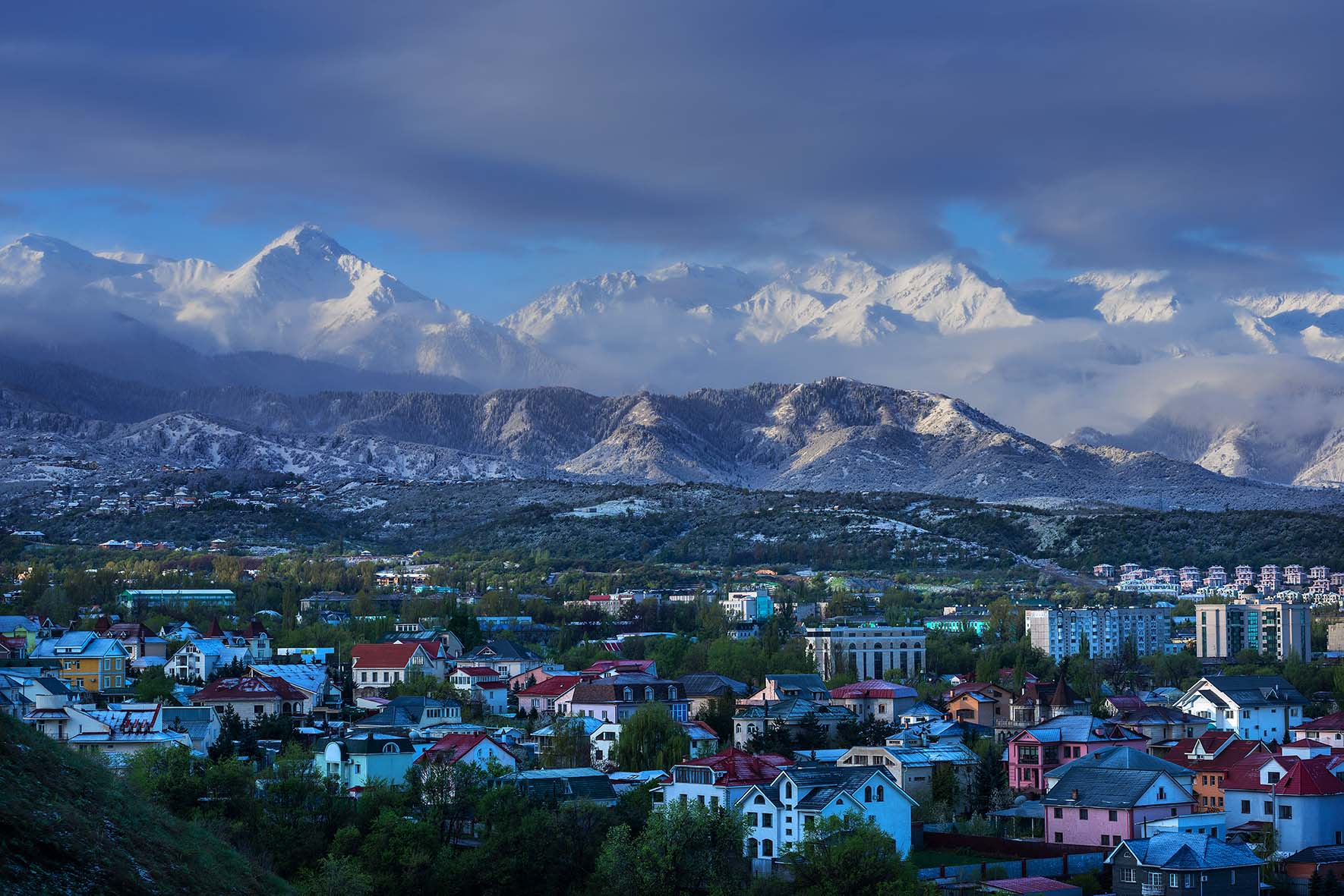 Almati a hegyek ölelésében #moszkvater
