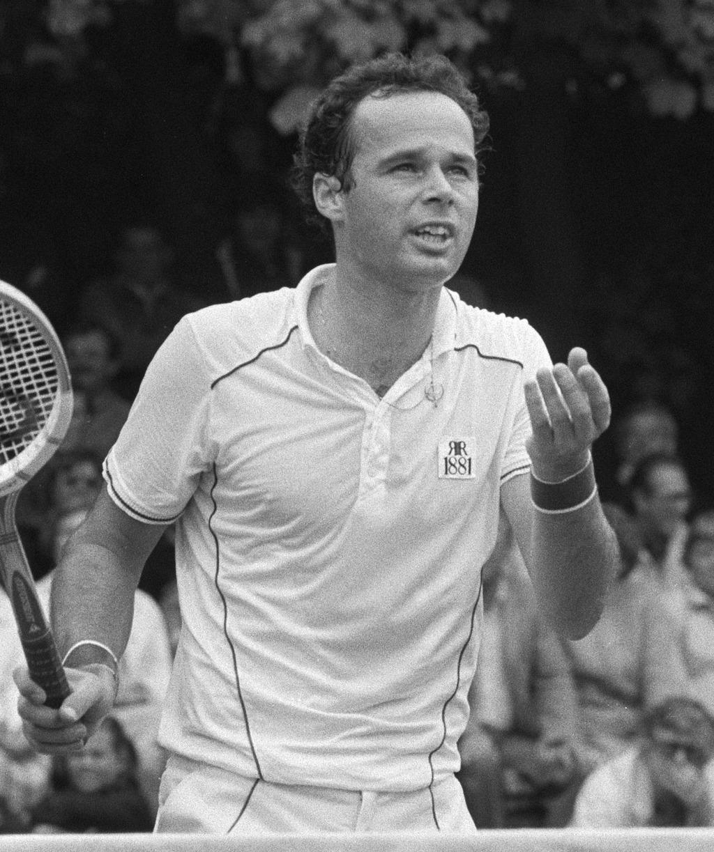 Taróczy Balázs a hilversumi teniszverseny döntőjében 1981-ben #moszkvater