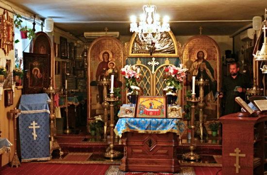 A Szent Miklós házi templom belső tere #moszkvater
