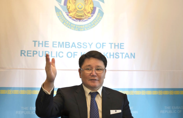 Rusztemov Rurbah, a Kazah Köztársaság magyarországi nagykövete #moszkvater