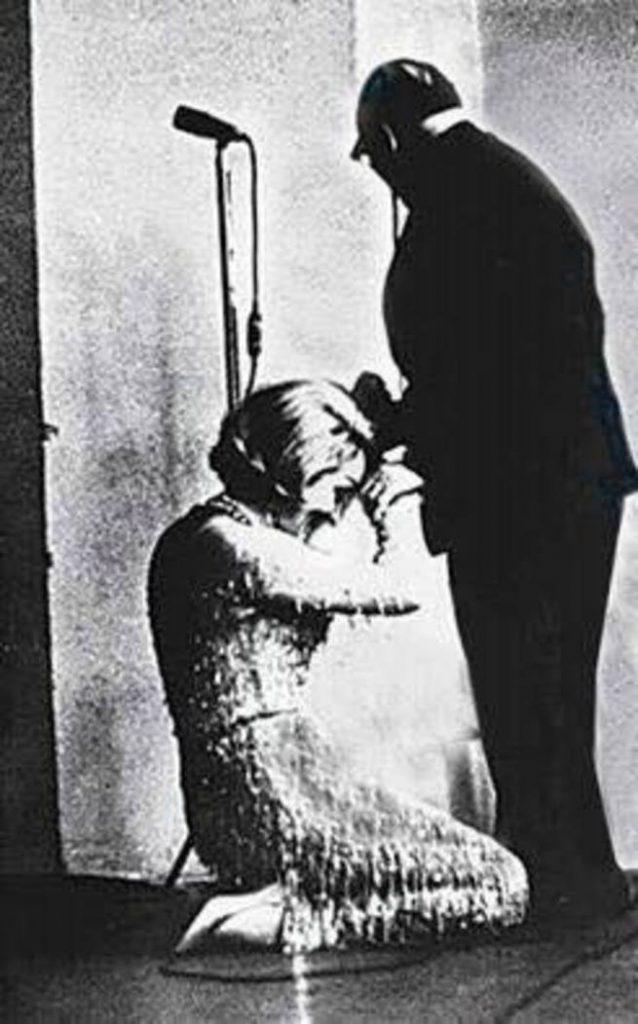 Marlene Dietrich és Pausztovszkij