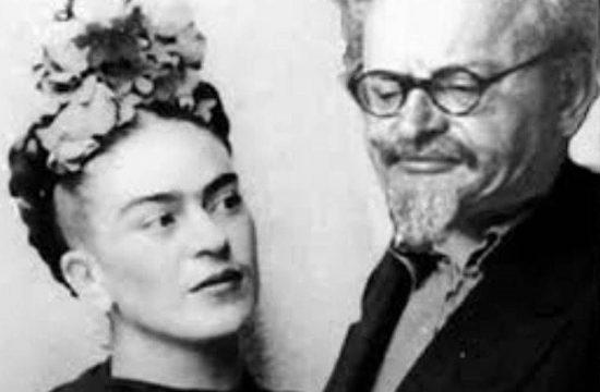 Frida Kahlo és Lev Trockij #moszkvater