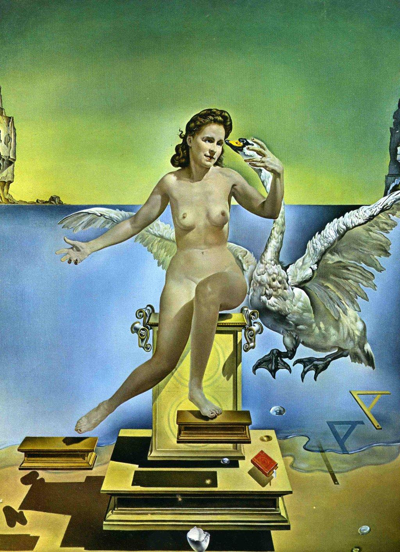 "Salvador Dali –""Atomic Leda"" (1949) #moszkvater"