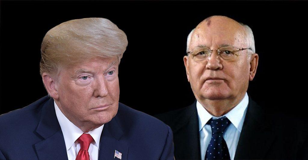 Donald Trump és Mihail Gorbacsov #moszkvater