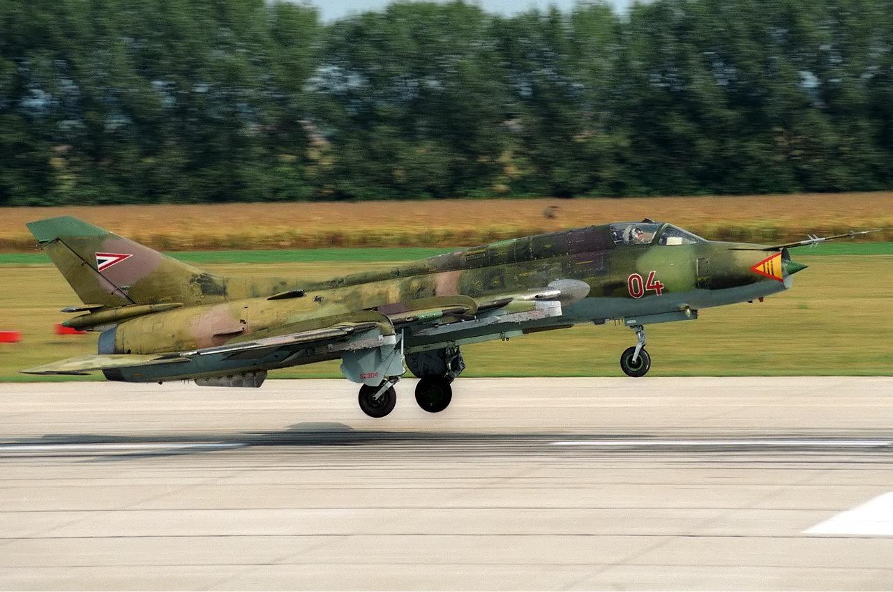 Szu-22M3 magyar színekben #moszkvater