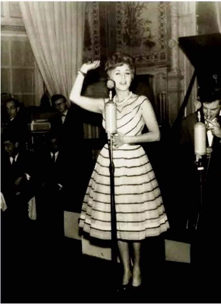 Sárosi Katalin az 1968-as szovjet turné alatt előadói díjat nyert #moszkvater