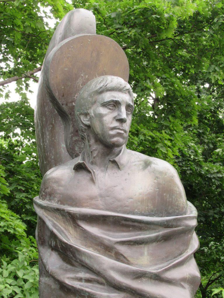 Vlagyimir Viszockij sírja Moszkvában, a vaganykovói temetőben #moszkvater