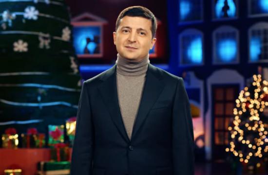 Volodimir Zelenszkij rendhagyó újévi köszöntőt mondott #moszkvater