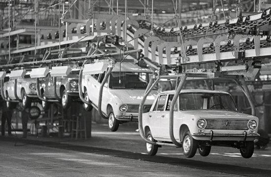 A Togliatti gyárban 50 éve készültek el a legelső Ladák #moszkvater