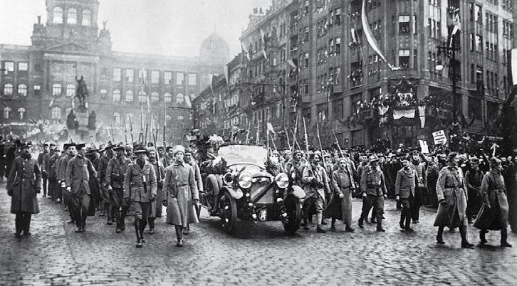 Thomas G. Masaryk érkezése Prágába 1918. december 21-én #moszkvater
