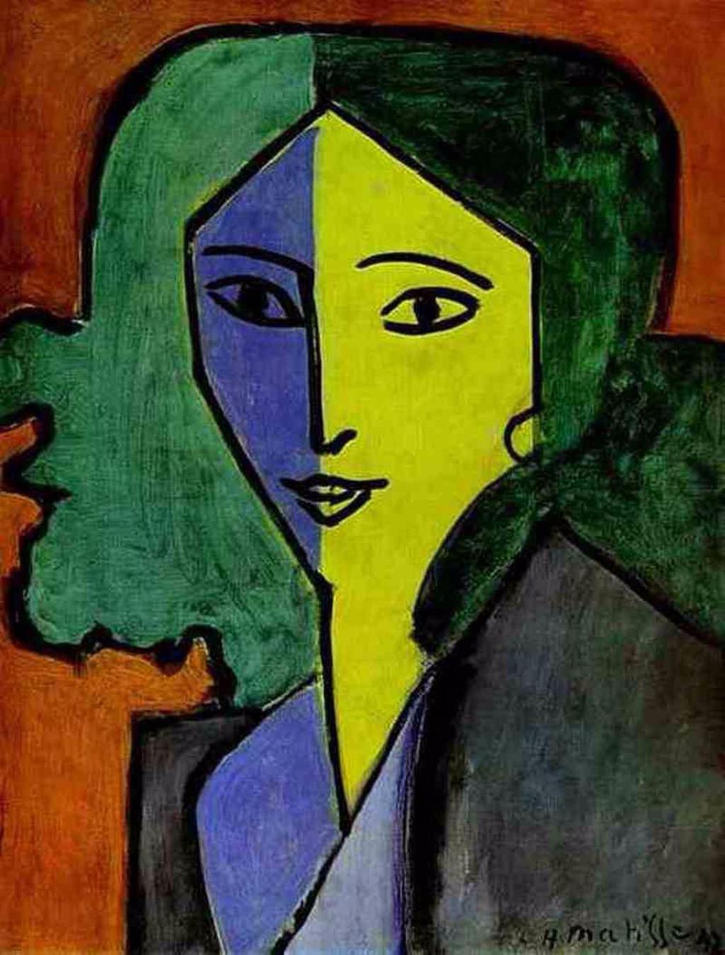 Henri Matisse – Ligyija Gyelektorszkaja portréja (1947) #moszkvater