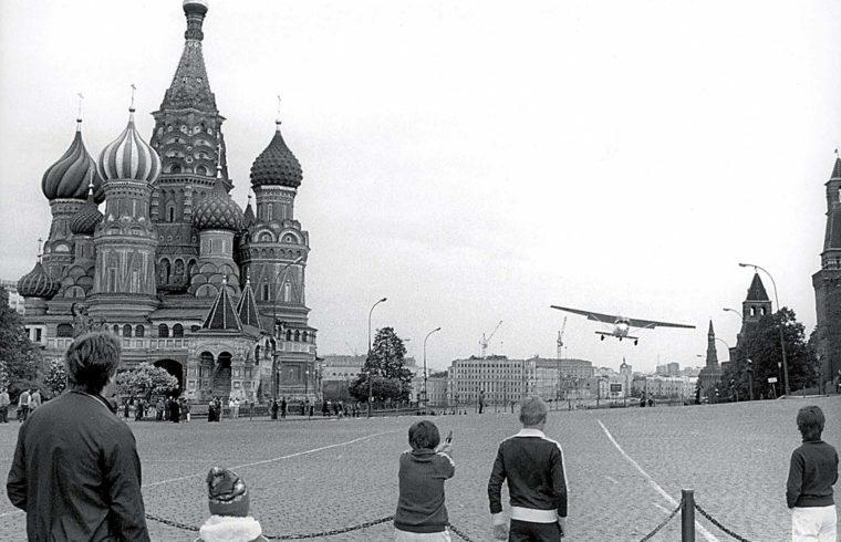 Mathias Rust 1987. május 28-án egy Cessna típusú repülővel landolt a moszkvai Vörös téren #moszkvater