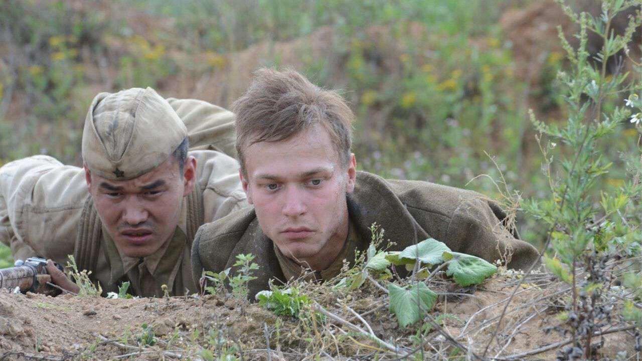 Jurij Boriszov és Amir Abdikalov Azz út Berlinig című filmben #moszkvater